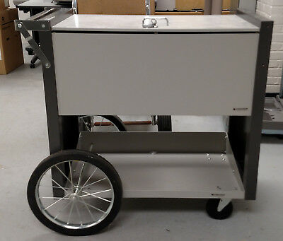 Charnstrom Medium Locking File Cart