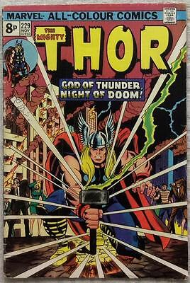 Thor #229 (1974 Marvel) 1st series VG/FN condition.