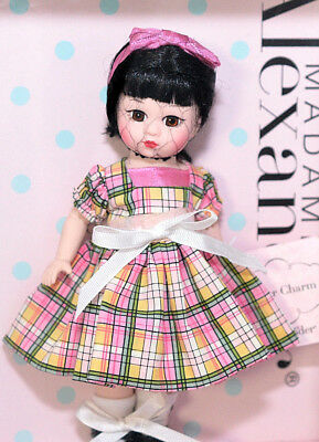 "Madame Alexander SHEER CHARM 8"" doll NRFB #40805 Asian girl Black hair"