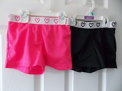 Lot of 2 Lined Gym Shorts for Dance Cheer Sports Gymnastics Size 6x