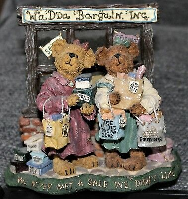 "Boyd's Bears & Friends  #228404 Pam & Kristi Shopsalot ""What A Bargain"""