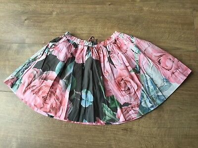 Kids Girls Next Pink Floral Skirt  - Age 4 Years