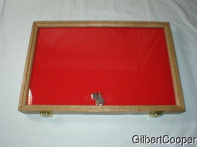 "OAK DISPLAY FRAME 12"" x 18"" by 2"" wide -USA made- Free Shipping"