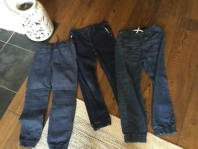 3 Pairs Boys Jeans, Age7-8,  8-9, 9 Next H&M