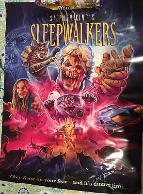 Sleepwalkers Scream Factory Exclusive Poster