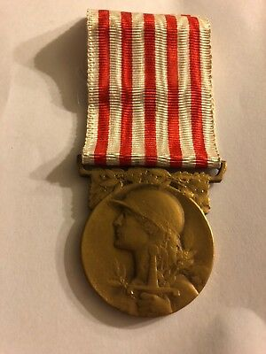 Ww1 1914-1918 French Military Campaign Medal