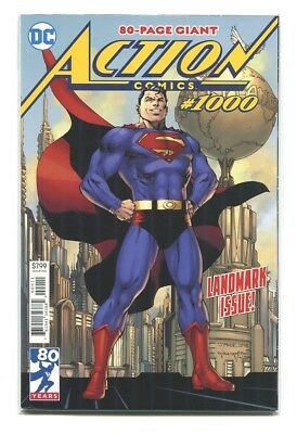 NEW DC Superman Action Comics #1000 NEW NM UNREAD Jim Lee Cover A