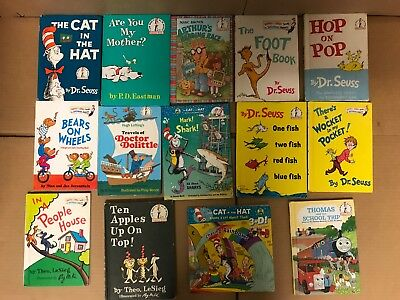 Lot of 20 Dr. Seuss I Can Read It Beginner Early Children Kids Read Books #Y64