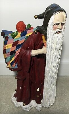 "Duncan Royale Santa Medieval Large 11"" Figure Limited Edition 1983"