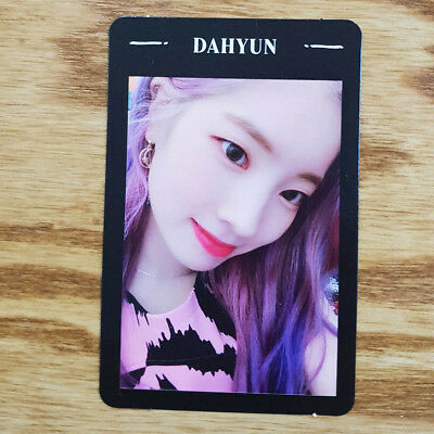 Dahyun Official Photocard Twice Yes or Yes The 6th Mini Album Kpop Genuine