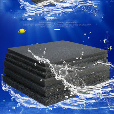 Aquarium Internal Sponge Bio Filter Filtration Foam Pad Mesh Fish Tank Clearning