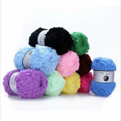 Soft Cotton Baby Yarn New Hand-dyed Wool Socks Scarf Knitting LE