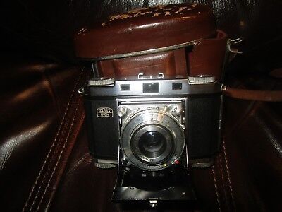 VINTAGE FILM Zeiss Ikon Contina CAMERA WITH ORIGINAL CASE