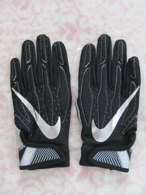 219a30cf7734 Nike Youth Superbad 4.0 Gloves Black Metallic Silver Youth Large L G - New