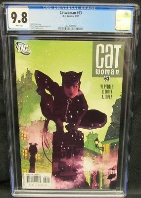 Catwoman #63 (2007) Adam Hughes Cover CGC 9.8 White Pages CM927