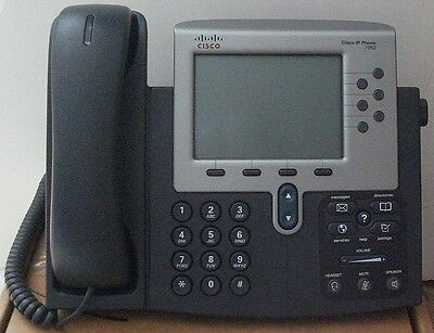 Cisco CP-7962G 7962 IP Phone SCCP Firmware Tested Warranty 110xAvail