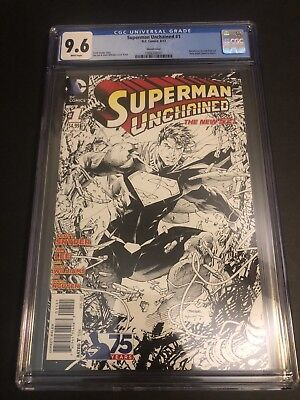 Superman Unchained 1 / 1:300 Variant / CGC 9.6