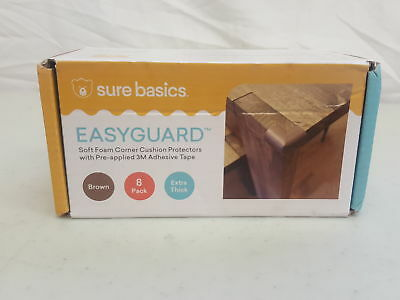 Soft Baby Proofing Corner Guards & Edge Protectors - Pre-Applied (H104897)