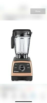 Vitamix Professional Series 750 10-Speeds Blender...The Color Is A Bronze Base.