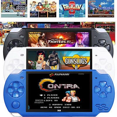 8GB 32Bit 10000 Games Built-In Portable Handheld Video Game Console Player 4.3''