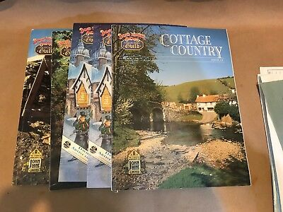 David Winter's Cottage Country Collector's Set 1991