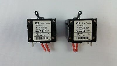 2pcs FUJI ELECTRIC CP33V/5W CIRCUIT PROTECTOR 5A 1kA LOT OF 2
