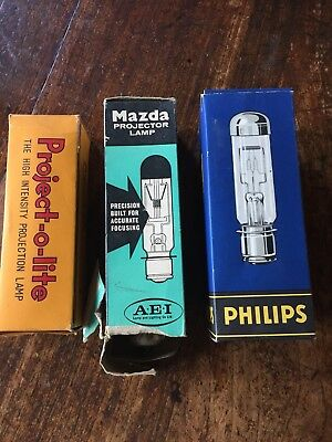 Vintage Projector Lamps