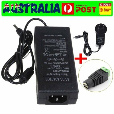 Power Supply Adapter DC 12V 1A 2A 5A 6A 10A  Charger 5050 3528 LED Strip Lights