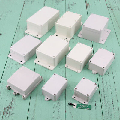 Small Tiny ABS Plastic Enclosure Project Boxes with Mounting Flanges- China Made