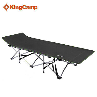 KingCamp Portable Strong Stable Folding Deluxe Camping Bed 74.8×26.8×18.9 in