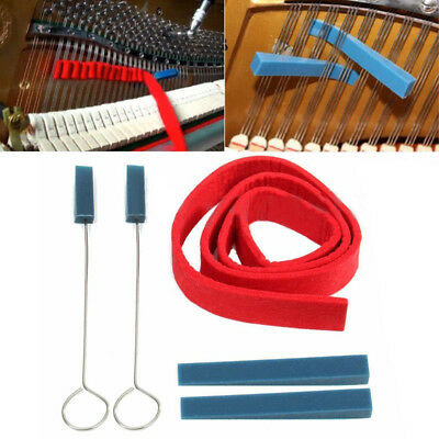 Piano Tuner Instrument Kit Key For Piano Tuning,with Square Head, Nickel  5pcs