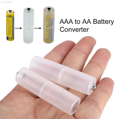 4005 741A Household Trip Lightweight Battery Converter 2PC AAA To AA Size