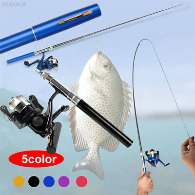 7A17 2979 Carbon Mini Durable Practical Casting Rod Fishing Reel Fishing Rod