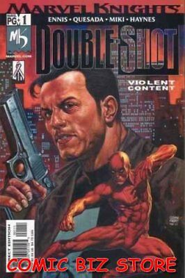 Marvel Knights Double Shot #1 (2002) 1St Printing Bagged & Boarded Marvel Comics