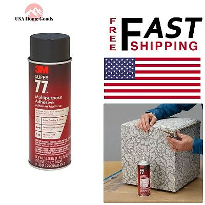 Spray Adhesive Bonds 16.75 fl. oz Foil Fabric Plastic Metal Glue Paper Cardboard