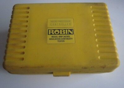 Robin KMP3010DL Insulation Continuity Tester