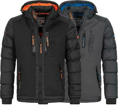 Geographical Norway Herren Winter Jacke Funktions Winterjacke Outdoor Parka