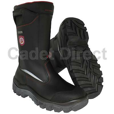 British Forces Issue Secura München Gore II Waterproof Firefighters Boot
