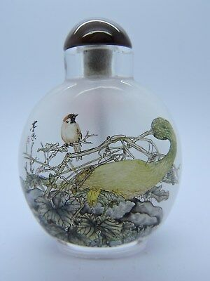 Super Inside Painted Chinese Snuff Bottle