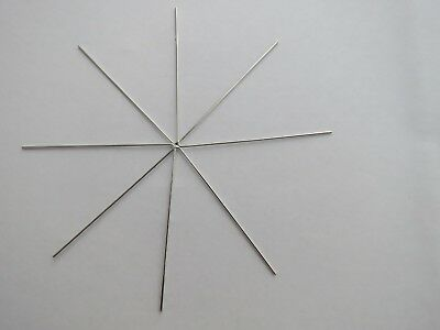 5 - 50 Snowflake Frame Wire Star 90mm 110mm Craft Making Christmas Decorations