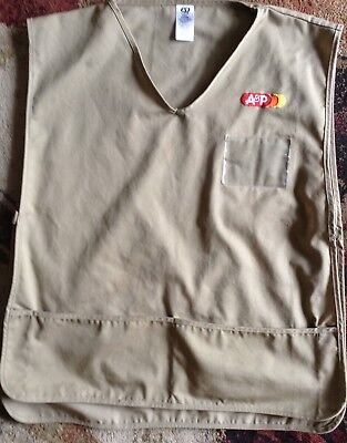 "Vintage, A&p"" Supermarket Employee Uniform Smock "" Original Issued! #2"