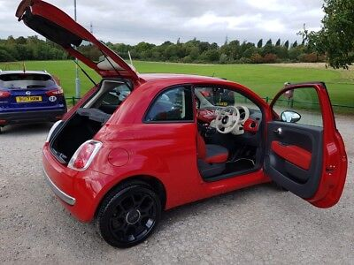 Fiat 500 1.2 Red colourful