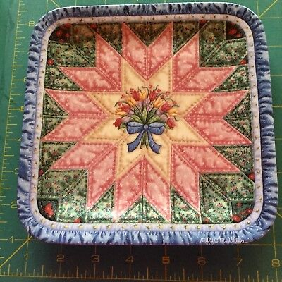 The Star Quilt Cherished Traditions Mary Ann Lasher Collector Plate Bradford