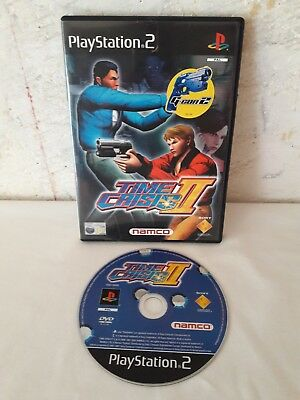 Time Crisis II 2 - Game and Case - Sony Playstation 2 PS2