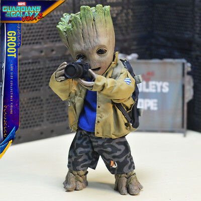 BABY GROOT Life Size 1:1 Action Figure 25cm Toys Guardians of The Galaxy Vol. 2