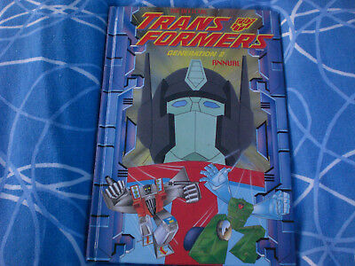 THE TRANSFORMERS - generation 2 ANNUAL  1994