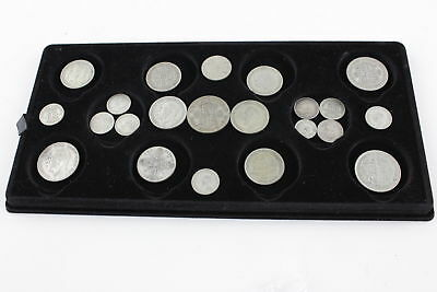 Lot of Vintage Pre 1947 GEORGE V & VI Mixed Denomination Silver Coins (164g)