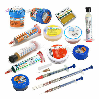 MECHANIC Rosin Soldering Syringe Solder paste Electronics Repair Application