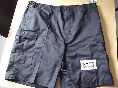 Cargo-Hose-Shorts-Pants NYPD-New York Police  Gr.XL (39-43 Inch) Harbor