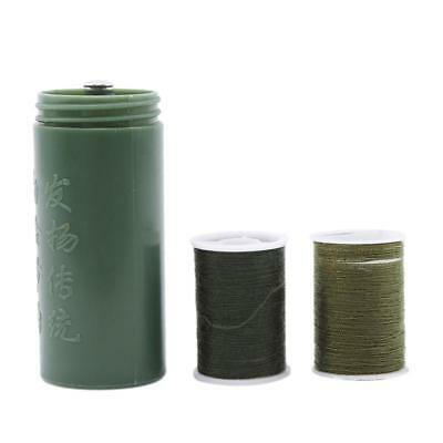 Portable Travel Military Green Color Round Sewing Craft DIY Kit LIN